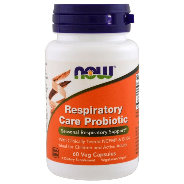 Now Foods, Respiratory Care Probiotic, 60 Veggie Caps