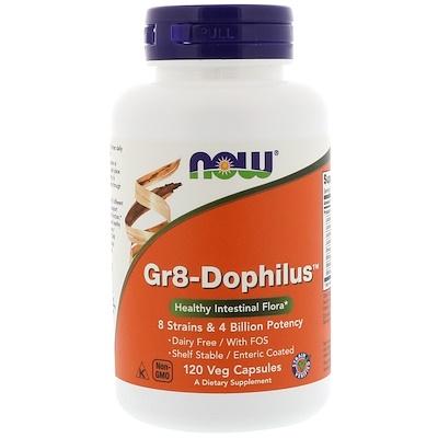 Купить Gr8-Dophilus, 120 растительных капсул