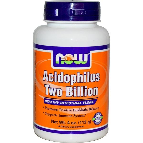 Now Foods, Acidophilus Two Billion, 4 oz (113 g) (Discontinued Item)