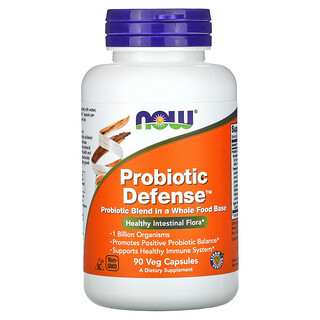 Now Foods, Probiotic Defense, 90 Veg Capsules
