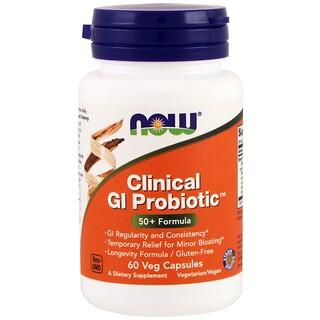 Now Foods, Clinical GI Probiótico, 60 Cápsulas Vegetais