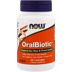 Now Foods, OralBiotic, 60g pastilles