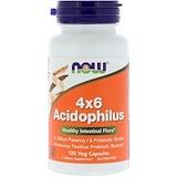 Отзывы о Now Foods, 4×6 ацидофильные бактерии, 120 растительных капсул