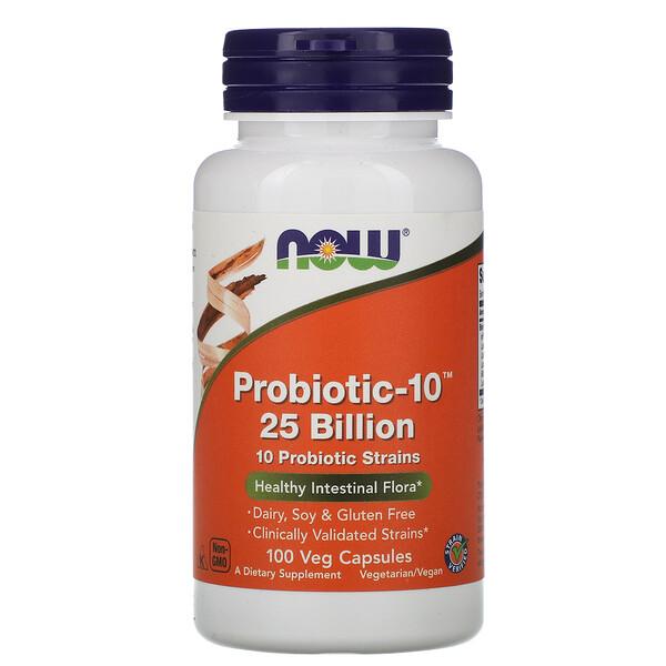 Probiotic-10 , 25 Billion, 100 Veg Capsules