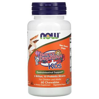 Now Foods, Berry Dophilus, Kids, 2 Billion, 60 Chewables