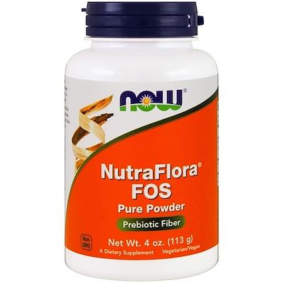 Купить NutraFlora FOS, чистый порошок, 4 унции (113 г)