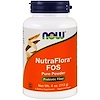 Now Foods, NutraFlora FOS, Pure Powder, 4 oz (113 g)