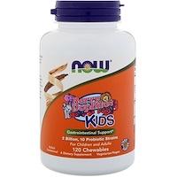 Berry Dophilus, Для детей, 2 млрд., 120 жевательных таблеток - фото