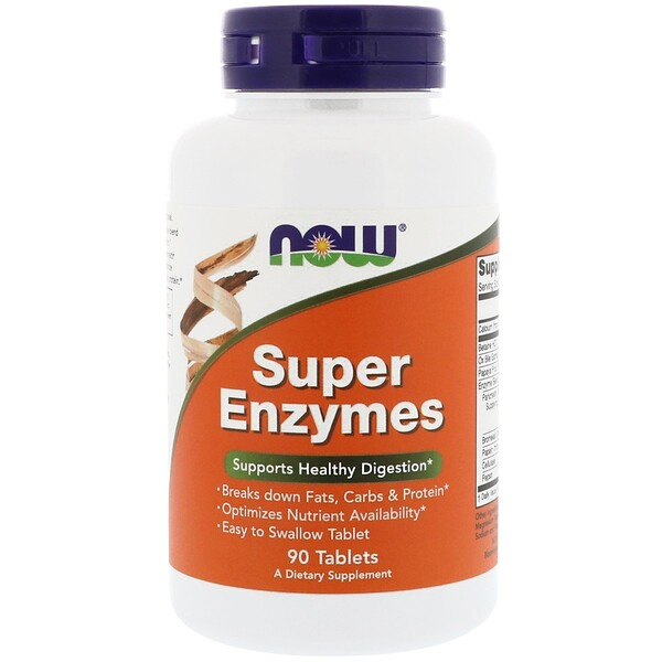 Super Enzymes, 90 Tablets