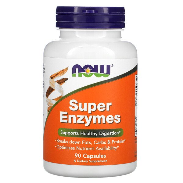 Now Foods, Super Enzymes, 90 Capsules