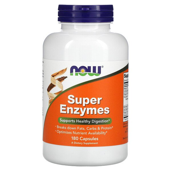 Super Enzymes, 180 Capsules