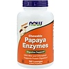 Now Foods, Papaya Enzymes, Chewable, 360 Lozenges
