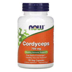 Now Foods, Cordyceps, 750 mg, 90 Veg Capsules отзывы