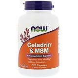 Отзывы о Now Foods, Целадрин и MSM, 120 капсул