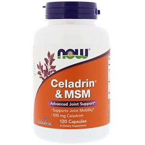 Now Foods, Celadrin & MSM, 120 Capsules отзывы