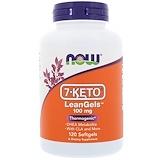 Отзывы о Now Foods, 7-Keto LeanGels, 100 мг, 120 гелевых капсул