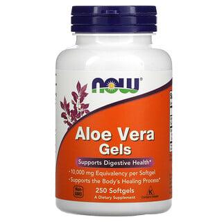 Now Foods, Aloe Vera Gels, 250 Softgels