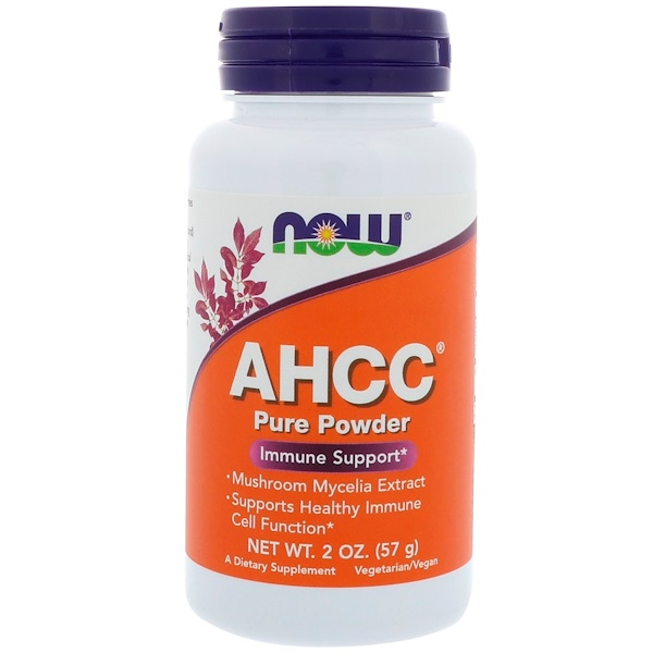 Now Foods, AHCC, Pure Powder, 2 oz (57 g) (Discontinued Item)