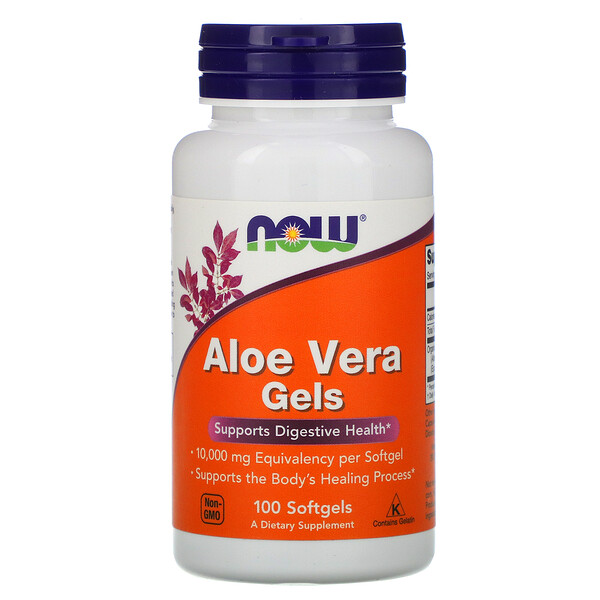 Now Foods, Aloe Vera Gels, 100 Softgels
