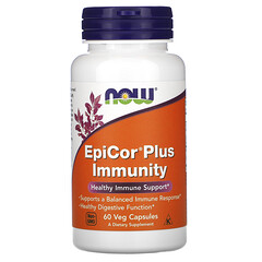 Now Foods, EpiCor 免疫支持素食膠囊,60 粒裝