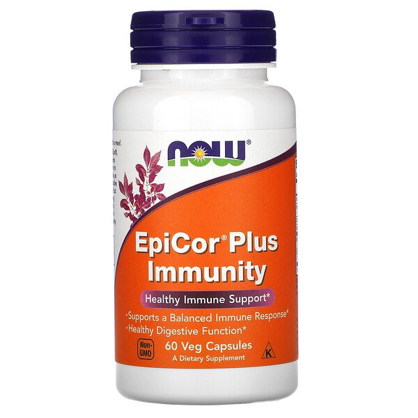 EpiCor Plus Immunity, 60 cápsulas vegetales