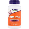 Now Foods, DIM 200, 90 Veg Capsules