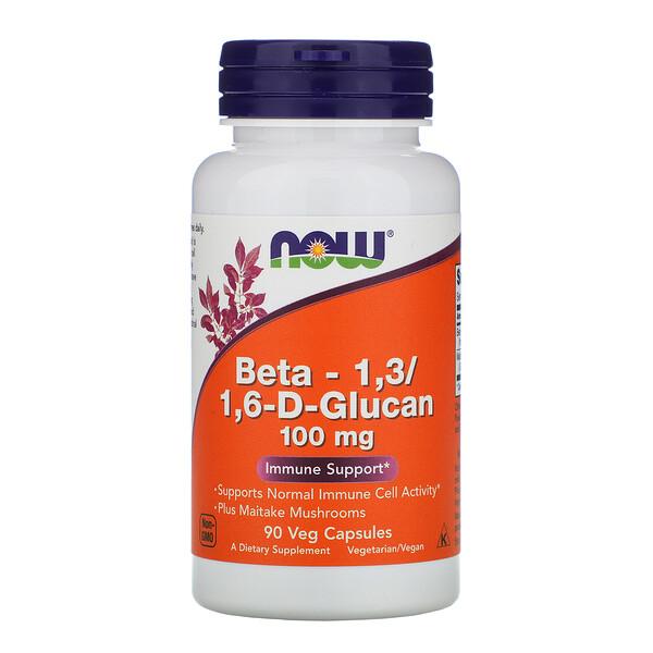 Beta-1,3/1,6-D-Glucan, 100 mg, 90 Veg Capsules