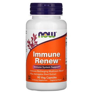 Now Foods, Immune Renew, добавка для поддержки иммунитета, 90растительных капсул