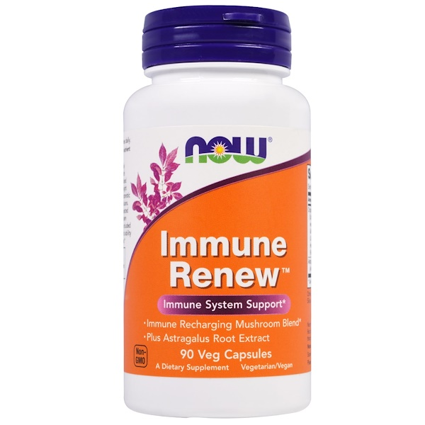Now Foods,  Immune Renew, 90 كبسولة نباتية