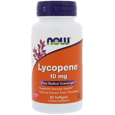 Фото - Ликопен, 10 мг, 60 мягких желатиновых капсул high absorption coq10 with bioperine 100 мг 60 мягких желатиновых капсул