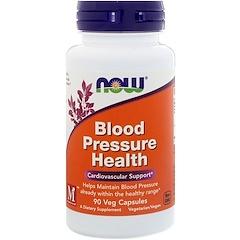 Now Foods, Здоровое артериальное давление, 90растительных капсул