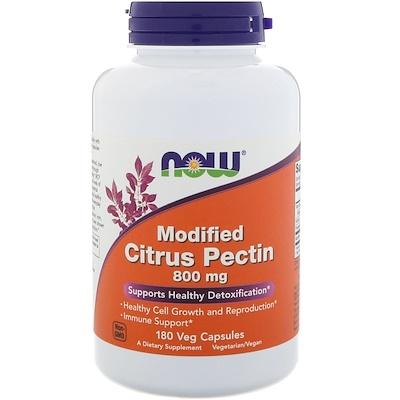Модифицированный цитрусовый пектин, 800 мг, 180 растительных капсул