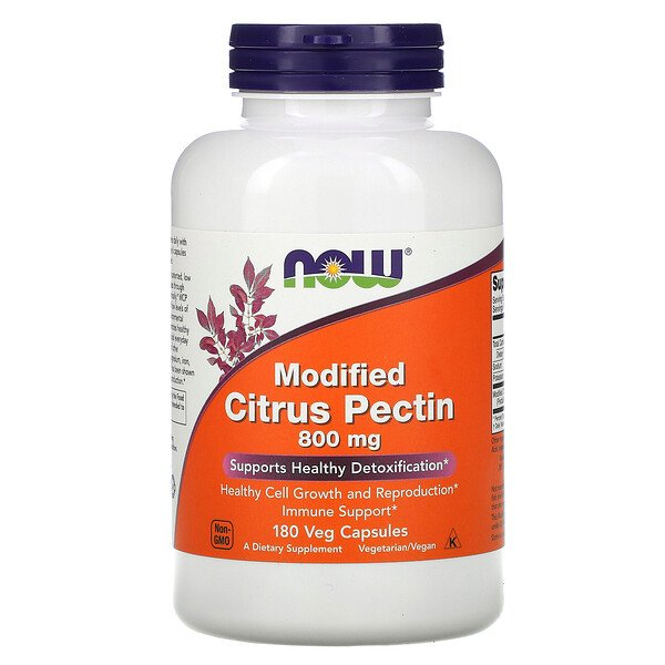 Modified Citrus Pectin, 800 mg, 180 Veg Capsules