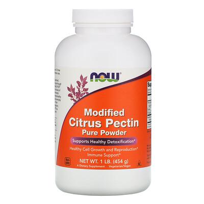 Now Foods Модифицированный цитрусовый пектин, чистый порошок, 1 фунт (454 г)