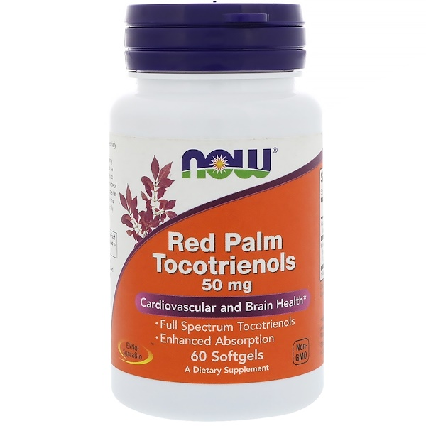 Red Palm Tocotrienols, 50 mg, 60 Softgels