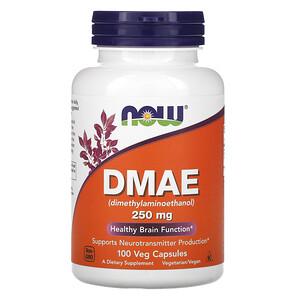 Now Foods, DMAE, 250 mg, 100 Veg Capsules отзывы покупателей