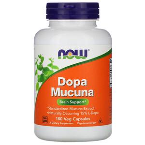 Now Foods, Dopa Mucuna, 180 Veg Capsules'