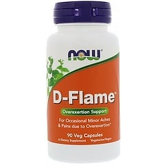 Now Foods, D-Flame, 90 Veg Capsules