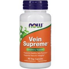 Now Foods, Vein Supreme,90粒素食膠囊