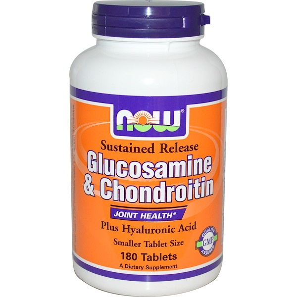 Now Foods, Glucosamine & Chondroitin, 180 Tablets (Discontinued Item)