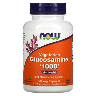 Now Foods, Vegetarian Glucosamine '1000', 90 Veg Capsules