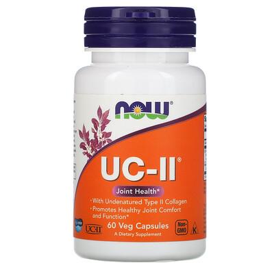 Купить Now Foods UC-II, 60 растительных капсул