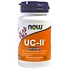 Now Foods, UC-II Joint Health, Undenatured Type II Collagen, 60 Veg Capsules