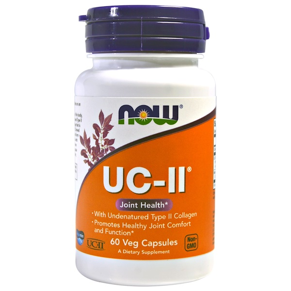 Now Foods, UC-II, 60 Veg Capsules