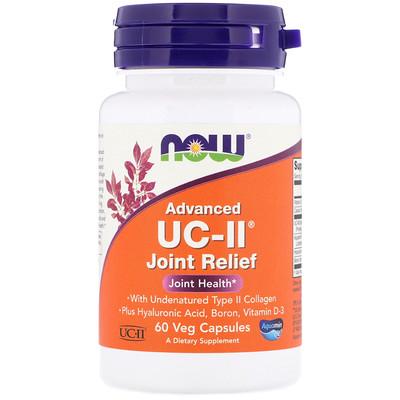 Купить Now Foods UC-II с усовершенствованной рецептурой, для укрепления суставов, 60растительных капсул