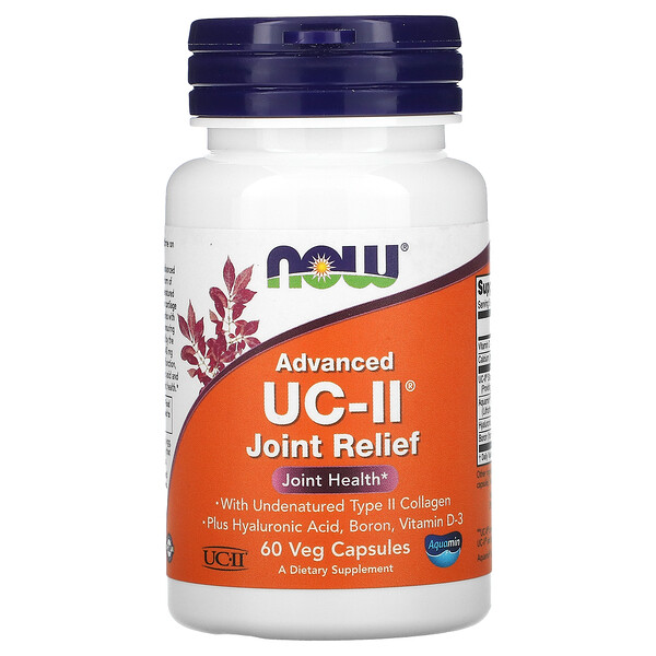 Advanced UC-II Joint Relief, 60 Veg Capsules