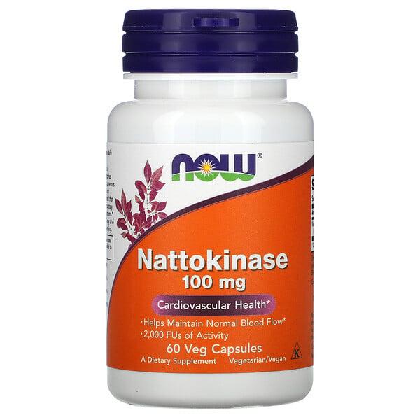Nattokinase, 100 mg, 60 cápsulas para vegetarianos