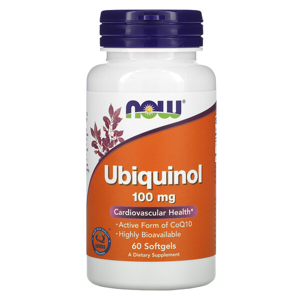 Ubiquinol, 100 mg, 60 Softgels