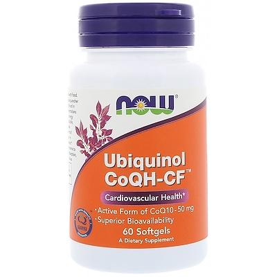 Купить Убихинол CoQH-CF, 60 гелевых капсул