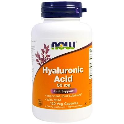 Hyaluronic Acid with MSM, 120 Veggie Caps
